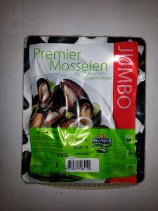Muslinger fra en potentiel aftager af muslingespat